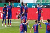 بالصور: أتلتيكو مدريد يعزز صدارته بانتصار شاق
