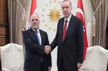 أردوغان والعبادي بحثا 5 ملفات بارزة تعزز العلاقات الثنائية