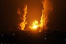 بالفيديو : انفجار مستودع ذخيرة للجيش السوري بدمشق