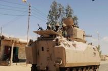 راديو إسرائيل : 100 عنصر من داعش يشنون أكبر هجوم على الجيش المصري