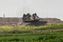 الجيش الإسرائيلي يطلق قذائف على نقطتي مراقبة في غزة