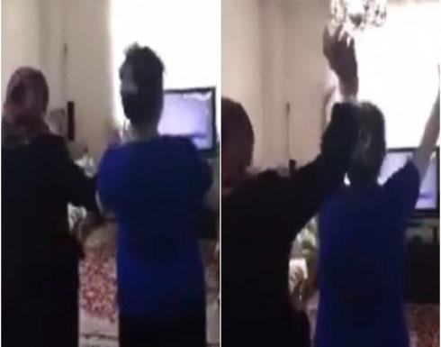 شاهد: إيرانيات يرقصن فرحاً بمقتل قاسم سليماني داخل منزلهن