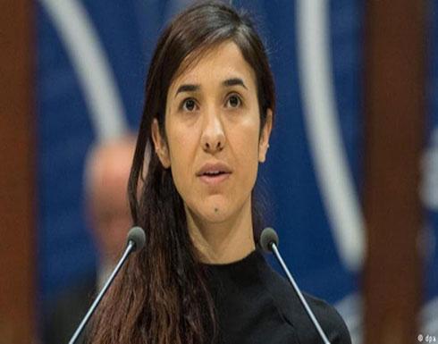 أول تصريح للفائزة بجائزة نوبل للسلام