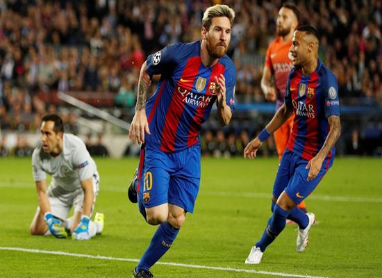 بالفيديو: ميسي يسطع مُجدداً ويقود برشلونة لانتصار كبير