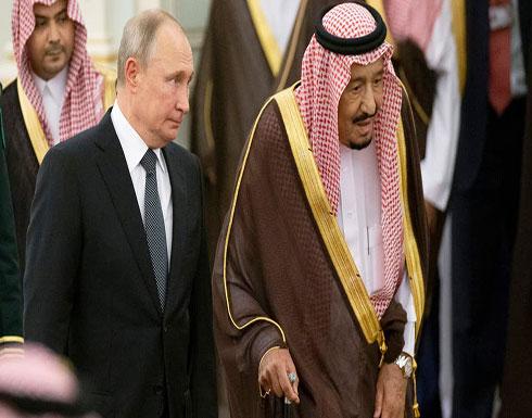 الكرملين : بوتين والملك سلمان اتفقا لتنسيق جهود أوبك+