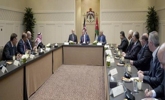 الملك يتسلم التقرير النهائي في حادثة البحر الميت