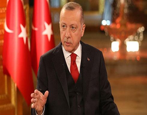 أردوغان: نرفض الاحتلال وسياسة فرض الأمر الواقع بالقدس