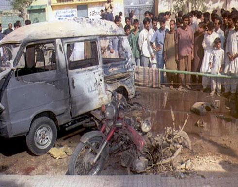 بالفيديو : ستة قتلى بتفجير انتحاري نفذته امرأة في باكستان