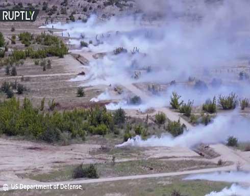 شاهد : مناورات قوات حلف الناتو في مقدونيا الشمالية