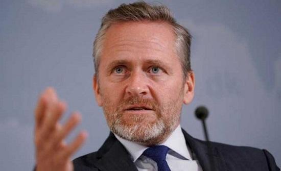 وزير خارجية الدنمارك: الاتحاد الأوروبي يقر عقوبات على المخابرات الإيرانية