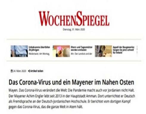 صحيفة ألمانية : الأردن الآن الأرض الأكثر أمانًا