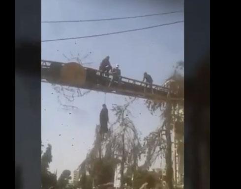 تعليق جثة انتحاري السويداء على جسر المدينة وتنظيم الدولة يحتل 4 قرى