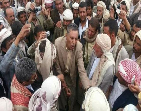 الحوثيون ينسفون منزل شيخ قبلي مقرب من صالح في عمران