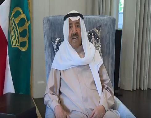 أول ظهور لأمير الكويت بعد وعكته الصحية