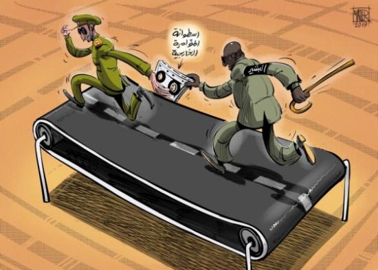 البشير يجمع صفوفه تحت شعار المؤامرة