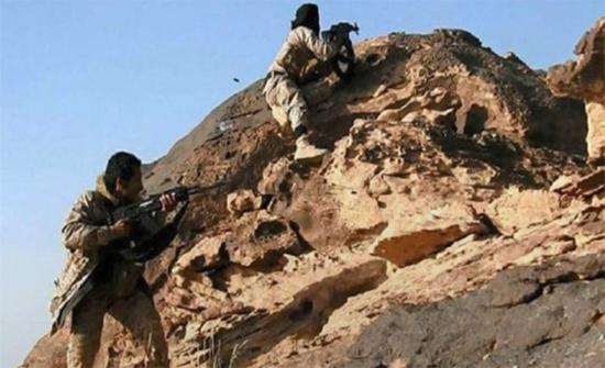 الجيش اليمني يسيطر على سلسلة جبال السابح قرب مركز باقم