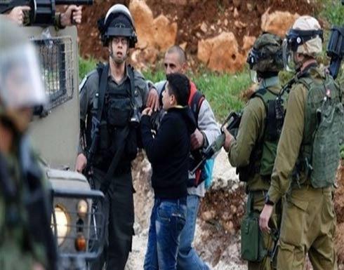 الجيش الإسرائيلي ينكل بثلاثة أطفال فلسطينيين