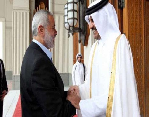 أمير قطر في اتصال هاتفي بهنية: الدوحة مستمرة في دعم الشعب الفلسطيني وإعمار غزة