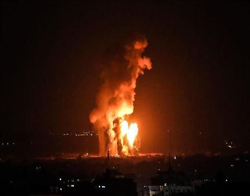 مقاتلات إسرائيلية تقصف أهدافا في قطاع غزة