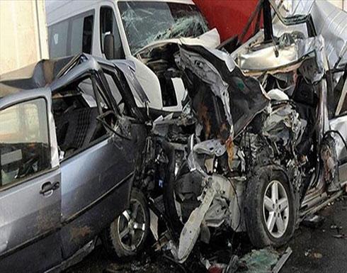 مصرع 7 وإصابة 34 في حادثي سير بمصر