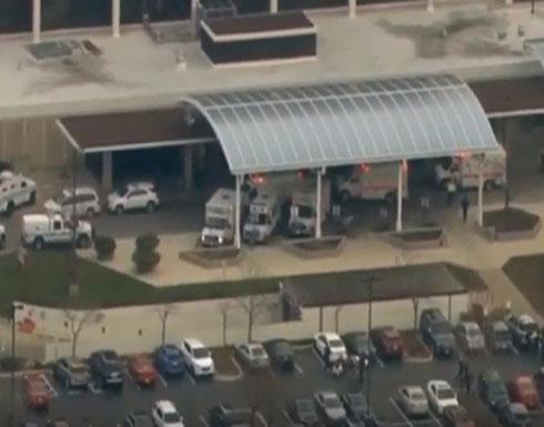 بالفيديو : جرحى بإطلاق نار قرب مستشفى في شيكاغو