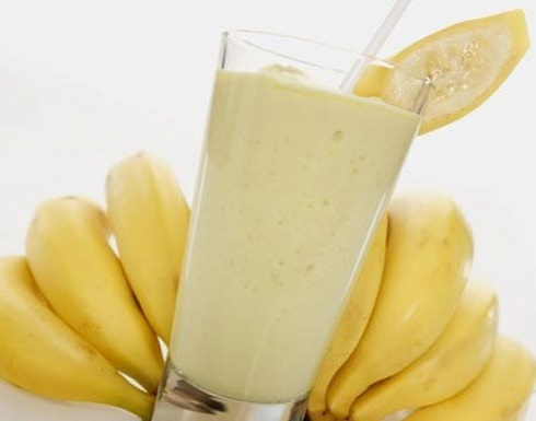 لا تخلط الموز مع الحليب