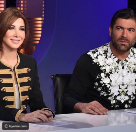 فيديو وائل كفوري ونانسي عجرم في وصلة رقص غربي على الهواء
