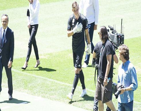 إصابة حارس مرمى ريال مدريد بكورونا