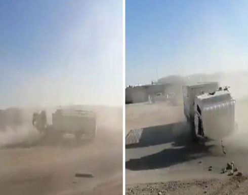 بالفيديو : الشاحنة المجنونة تُثير فزع المواطنين بالرياض وتمارس التفحيط بدون سائق