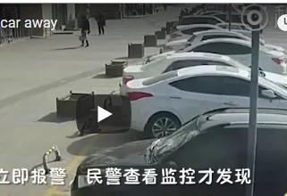 فيديو| نهاية غير متوقعة لرجل إعتقد أن سيارته سُرقت!