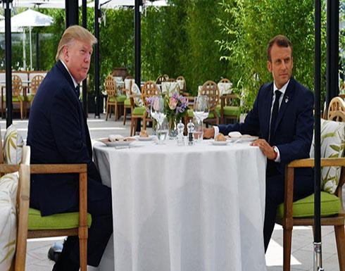 بالفيديو ..ماكرون بعد لقاء ترمب: نسعى لمنع إيران من حيازة النووي