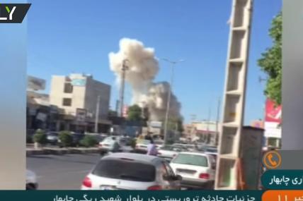 شاهد .. تفجير وإطلاق نار في مدينة تشابهار الساحلية جنوبي إيران