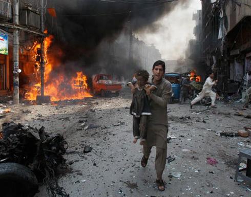 عشرات القتلى بتفجير جنوب باكستان تبناه تنظيم الدولة