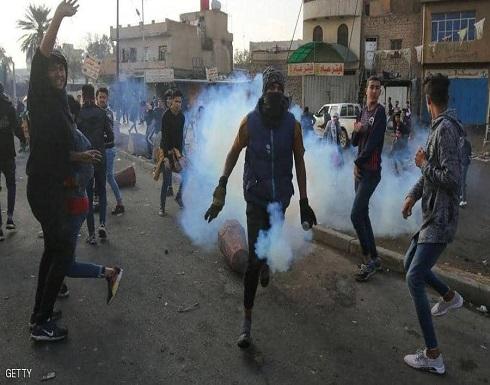إصابات في صفوف المتظاهرين باشتباكات مع قوات الأمن العراقية