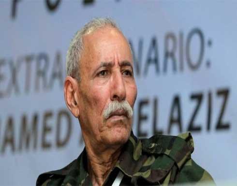 زعيم البوليساريو يغادر إسبانيا إلى الجزائر