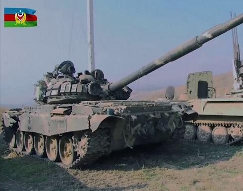 شاهد : الدفاع الآذربيجانية تنشر فيديو يظهر معدات عسكرية أرمنية في قره باغ