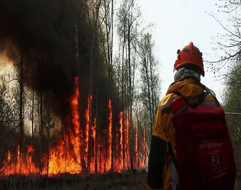 بوتين: الحرائق والفيضانات في روسيا مرتبطة بتغيرات المناخ