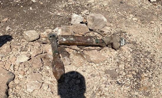 العثور على ذخيرة أردنية تعود لخمسينات القرن الماضي بالقدس