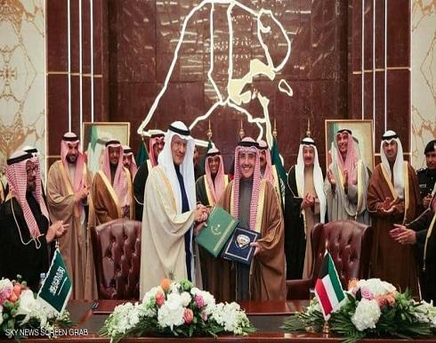 السعودية والكويت توقعان اتفاقية تقسيم المنطقة المحايدة