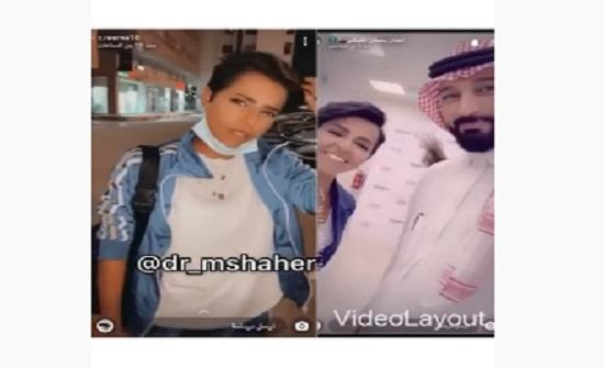 """فيديو: الفنان السعودي سلطان المقبالي يُهدي """"كابتن ريما"""" سيارة فاخرة"""