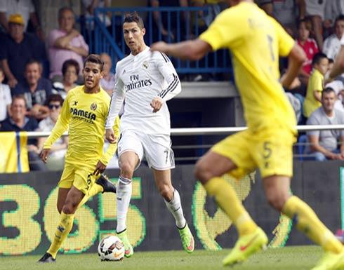 توقيت مباراة ريال مدريد وفياريال والمعلق والقناة الناقلة