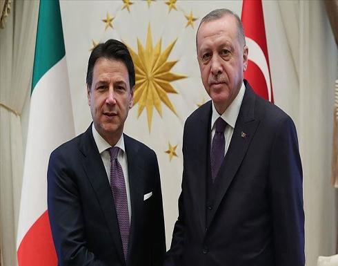 أردوغان وكونتي يبحثان المستجدات الإقليمية والشأن الليبي