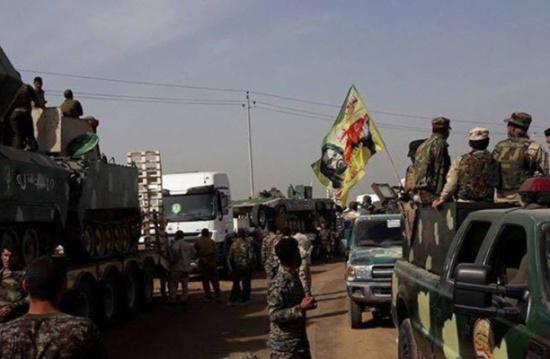 صواريخ وصرخات طائفية للحشد مع بدء معركة الموصل (شاهد)