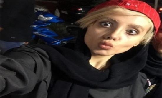بالصور...هذا هو الوجه الحقيقي للإيرانية شبيهة أنجلينا جولي