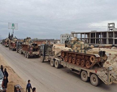 عشرات الدبابات التركية إلى ريف حلب الغربي شمالي سوريا