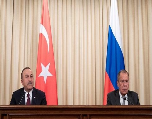 وزير خارجية تركيا يبلغ نظيره الروسي بأن الهجمات في إدلب بسوريا يجب أن تتوقف على الفور