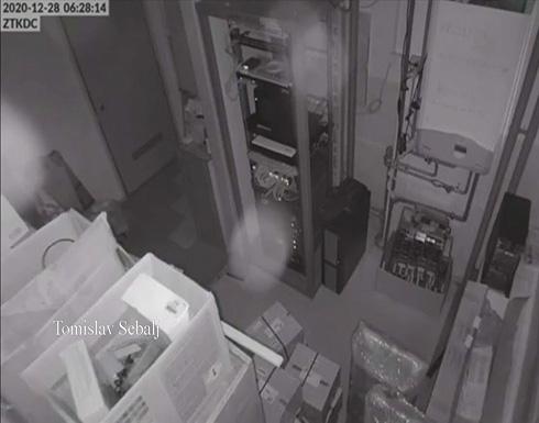 شاهد : كاميرات مراقبة تسجل لحظة زلزال في كرواتيا