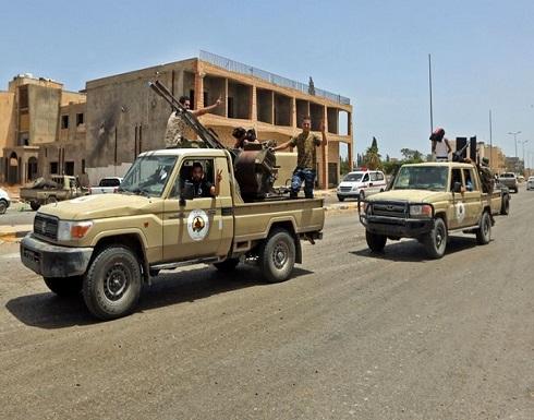 الجيش الليبي يسيطر على ترهونة.. وبدء عودة نازحين .. بالفيديو