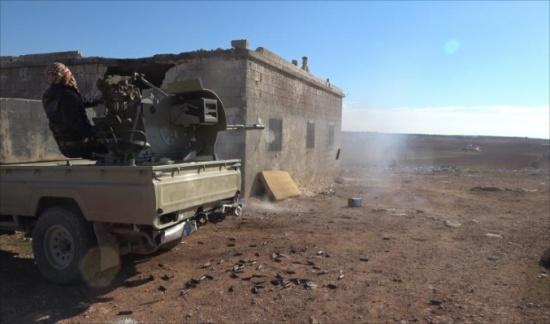 الجيش الحر يسيطر على مواقع جديدة بالباب