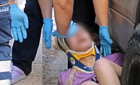 فتاة تقفز من الشباك هربا من خاطفيها في أنطاليا التركية